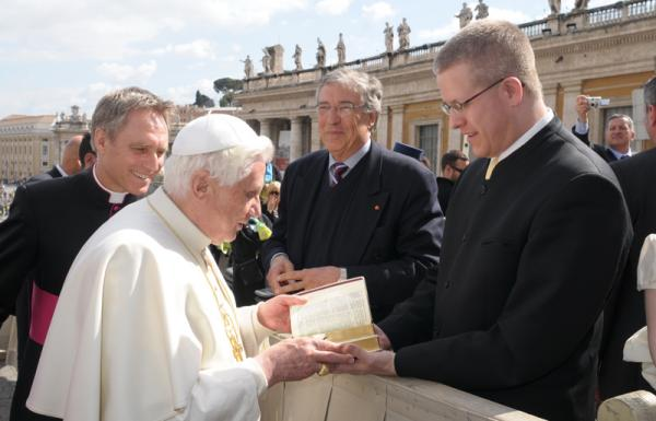 The Holy Father 11th March 2009